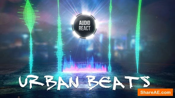 Videohive Urban Beats - Audio React
