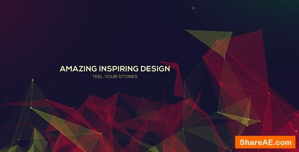 Videohive Plexus Abstract Titles