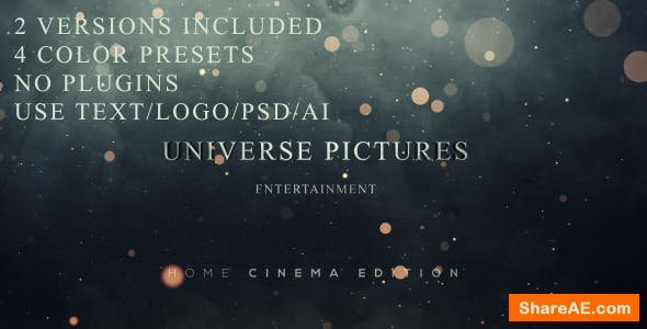Videohive Smokey Logo reveal