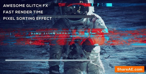 Videohive Pixel Sorting Trailer