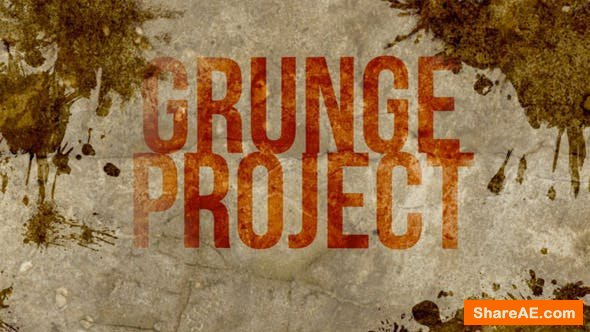Videohive Grunge Project