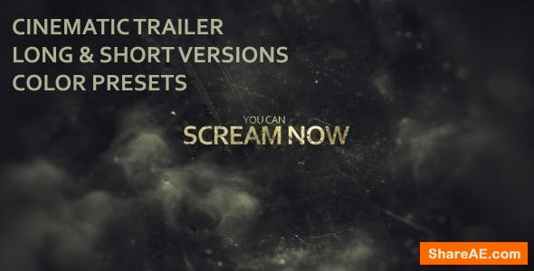 Videohive Evil Dead Trailer
