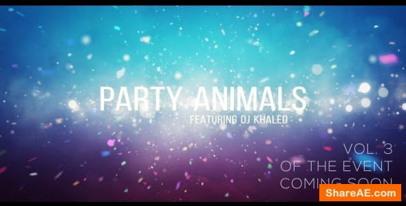 Videohive Project Party Animals 3