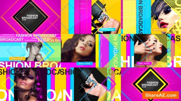 Videohive Fashion Broadcast