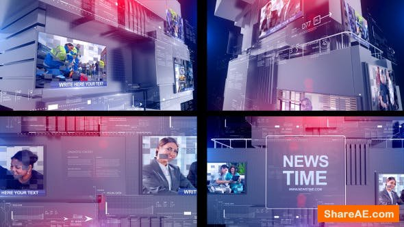 Videohive News Time