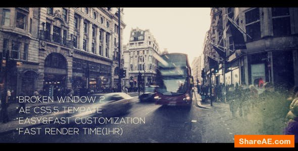 Videohive Broken Window 2