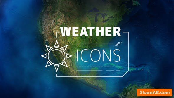 Videohive Weather Forecast Icons