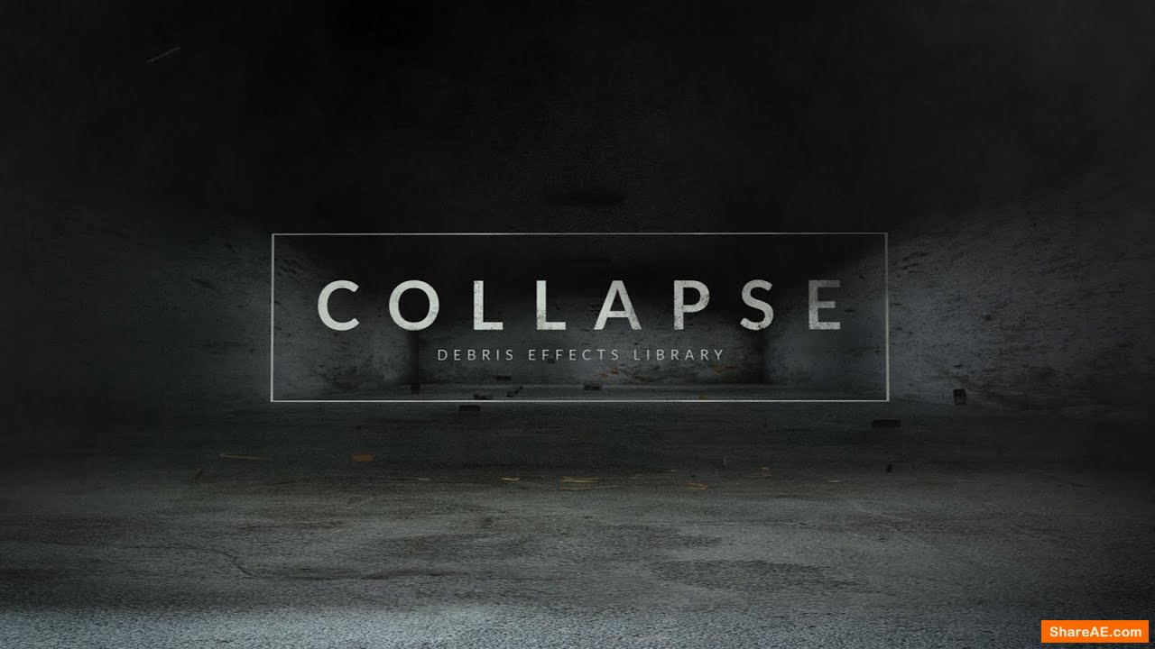 Collapse - 80 Debris Effects (RocketStock)