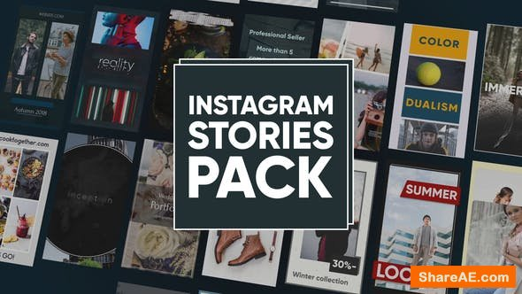 Videohive Instagram Stories Pack 22397597