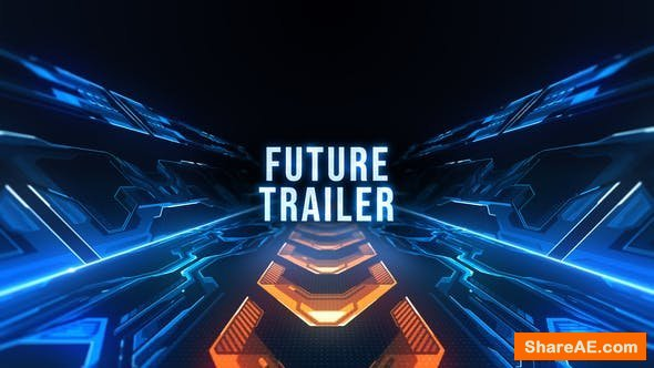 Videohive Future Trailer Titles