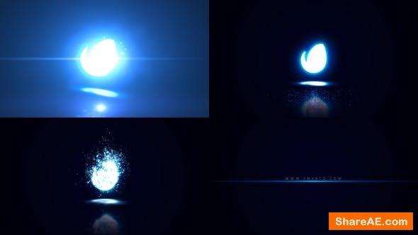 Videohive Glowing Particle Logo Reveal 21