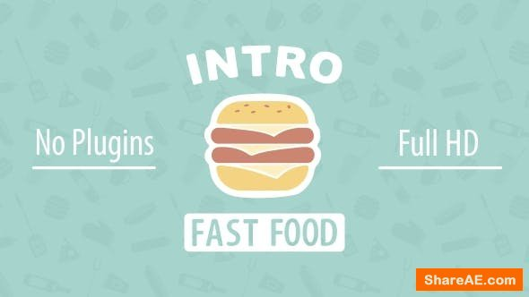 Videohive Fast Food Intro