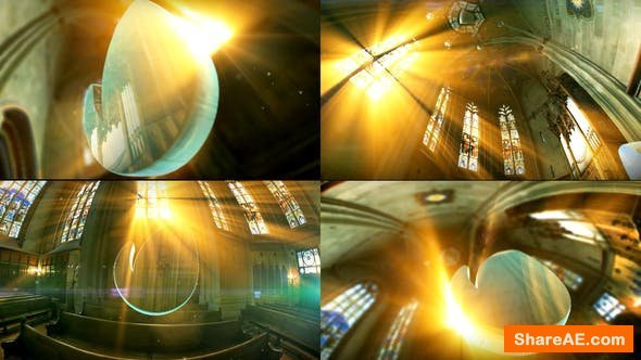 Videohive Holy Logo In Church