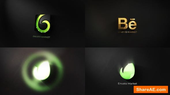 Videohive Glossy Logo 23189632
