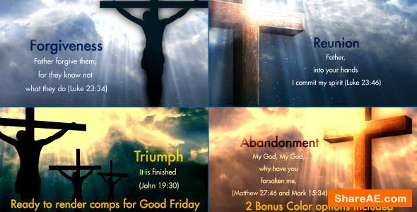 Videohive Worship Heaven 2 - The Seven Words of Christ