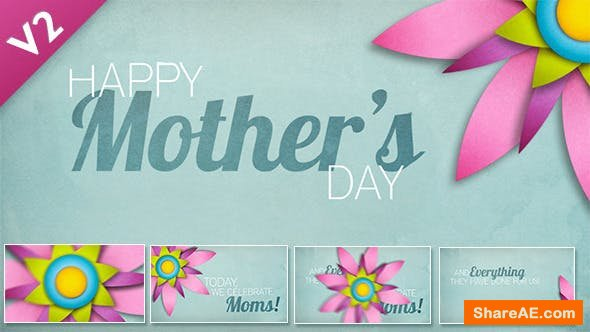 Videohive Mother's Day / Easter Animation