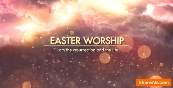 Videohive Easter Worship Promo