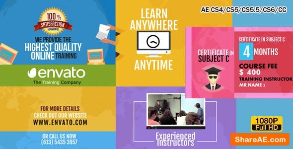 Videohive Training Courses Promo