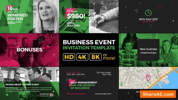 Videohive Business Event Invitation | Modern and Clean Promo