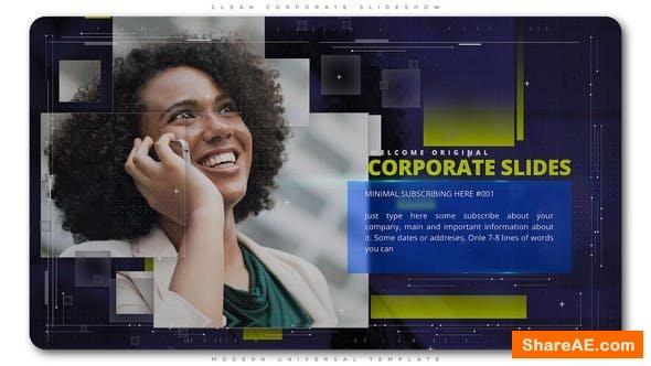 Videohive Clean Corporate Slideshow 22273689