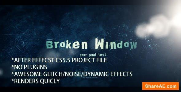 Videohive Dynamic Glitch & Noise Logo Opener