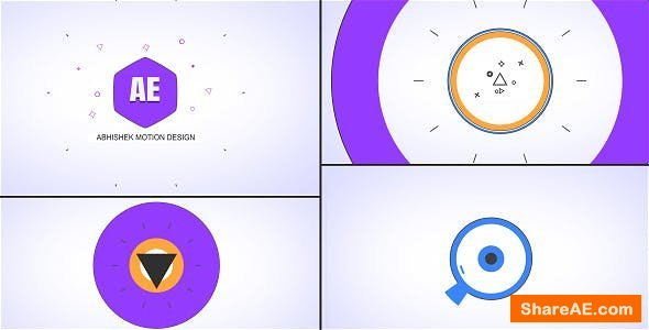 Videohive Shape Logo Opener - Hexa