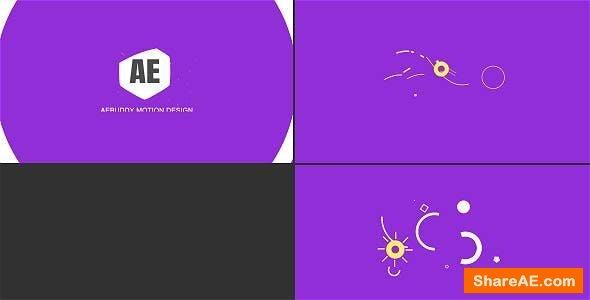 Videohive Shape Logo Reveal
