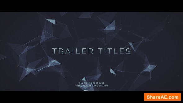 Videohive Trailer Titles 22742903