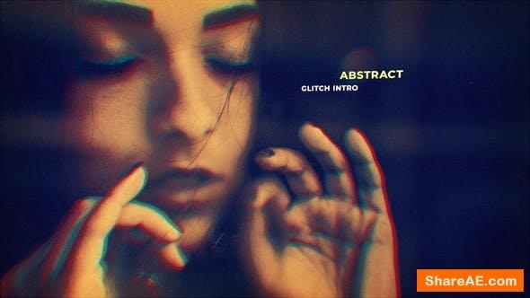 Videohive Abstract Glitch Intro