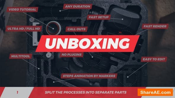 Videohive Step By Step - Unboxing