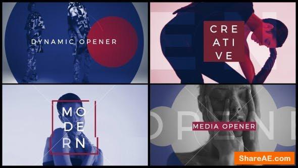 Videohive Media Opener 21255578