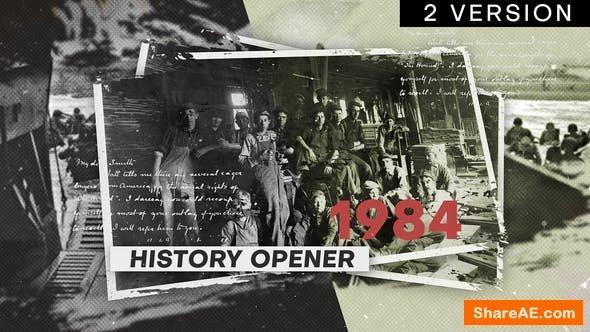 Videohive History Opener