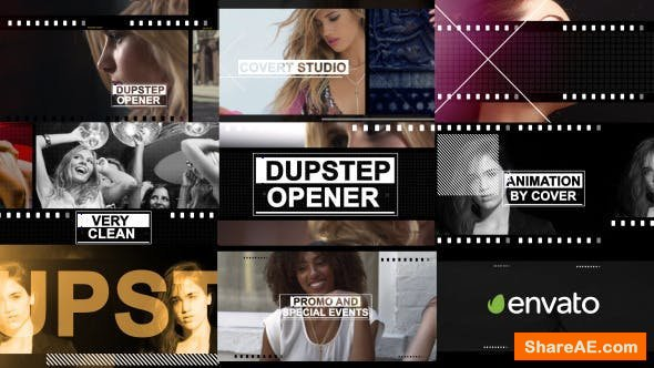 Videohive Fashion Dupstep