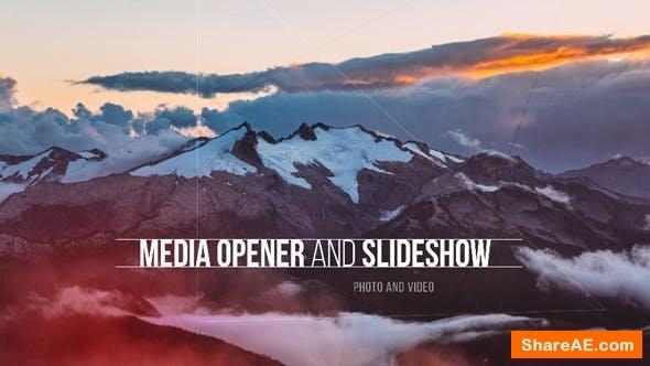 Videohive Media Opener - Slideshow