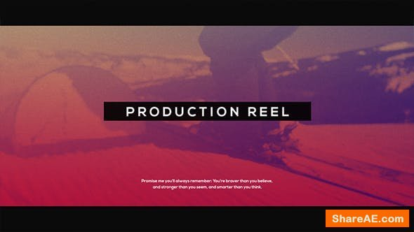 Videohive Production Reel l Glitch Promo