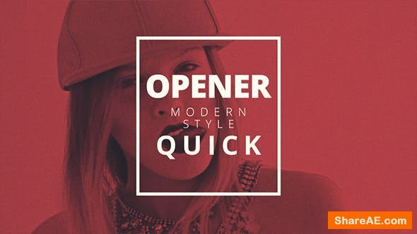 Videohive Fast Quick Opener