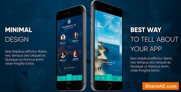 Videohive Phone App Presentation