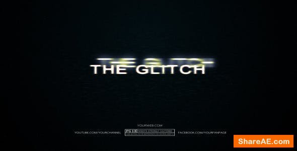 Videohive The Glitch