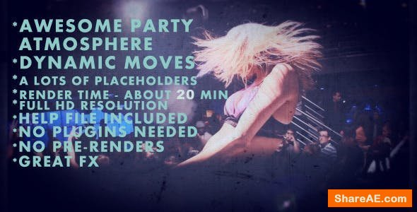 Videohive Project - Party Animals