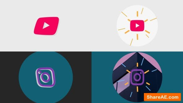 Videohive Minimal 3D Logo