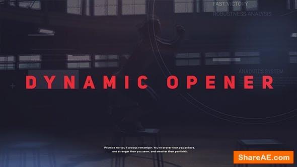 Videohive Dynamic Opener 20906258