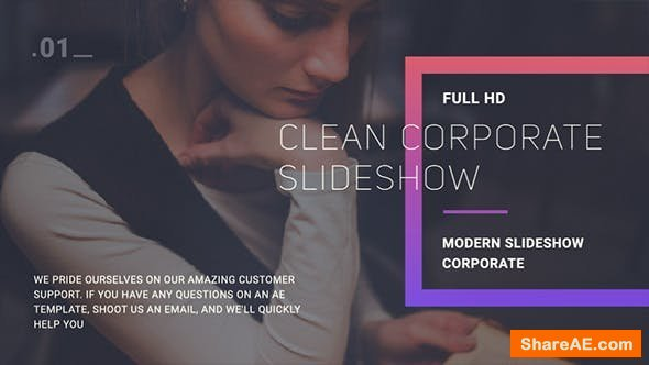 Videohive Corporate Slideshow 21225338