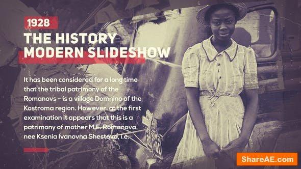 Videohive History Slideshow 23320509