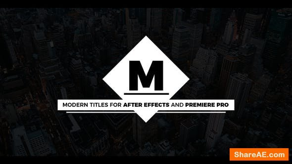 Videohive Essential Modern Titles