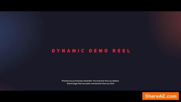 Videohive Dynamic Demo Reel 21661659