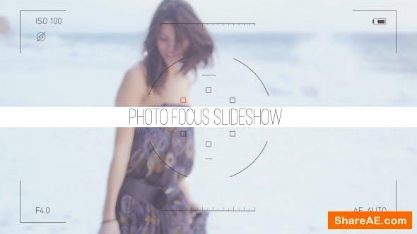 Videohive Photo Focus Frames Slideshow