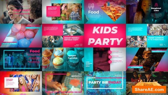 Videohive Kids Birthday Party
