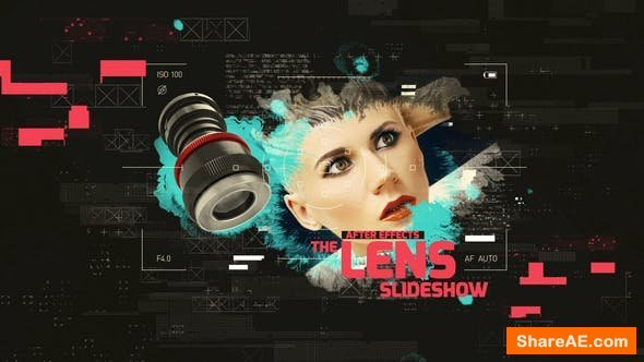 Videohive The Lens Slideshow