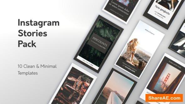 Videohive Minimal Instagram Stories