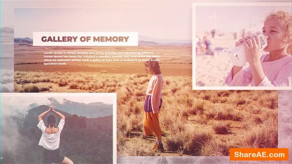 Videohive Gallery of Memories